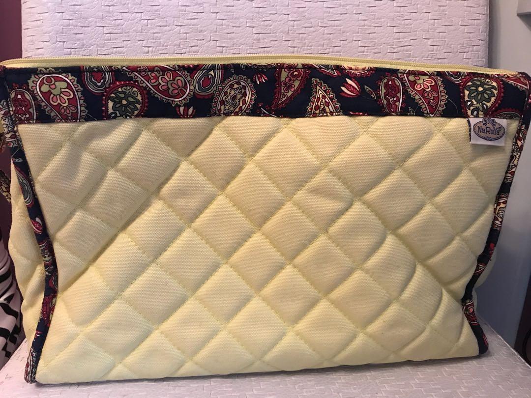 泰國naraya 帶化妝袋文件袋