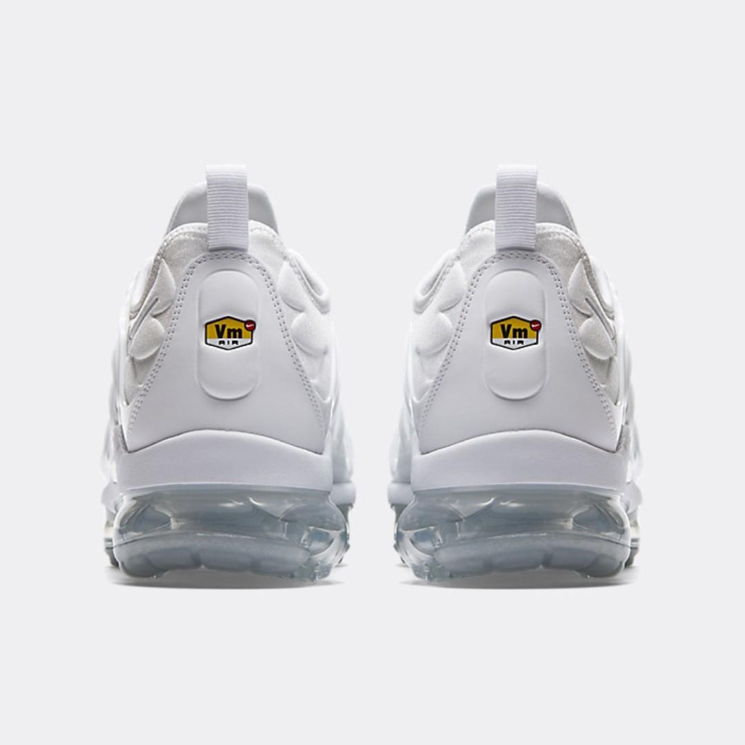 7e1b99b36cd Nike Air VaporMax Plus (White Pure Platinum) - UK 9 US 10