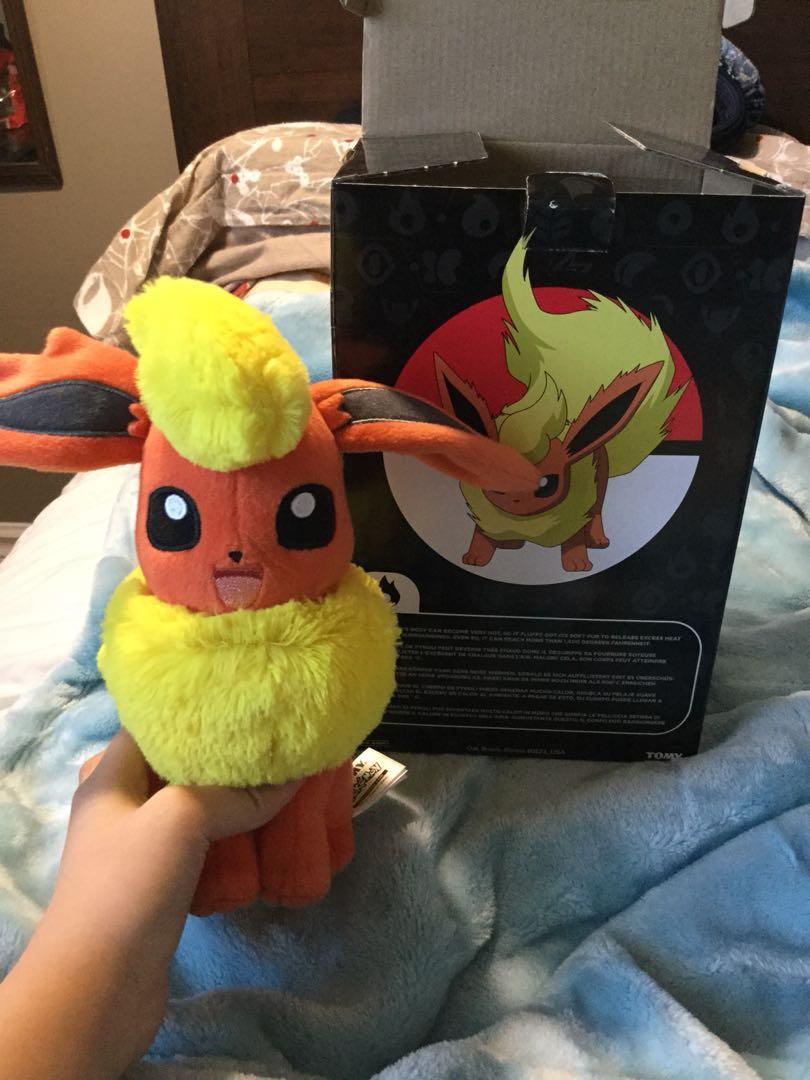 Pokémon plush toy fire type