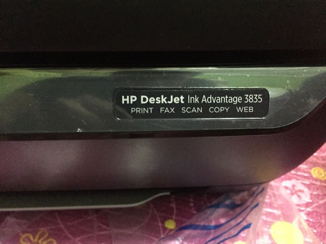 Jual Hp Deskjet Ink Advantage 3835 Printer Print Copy Scan Fax Kaos Couple Lengan Panjang Aj81 Electronics Computer Parts Wireless Accessories On