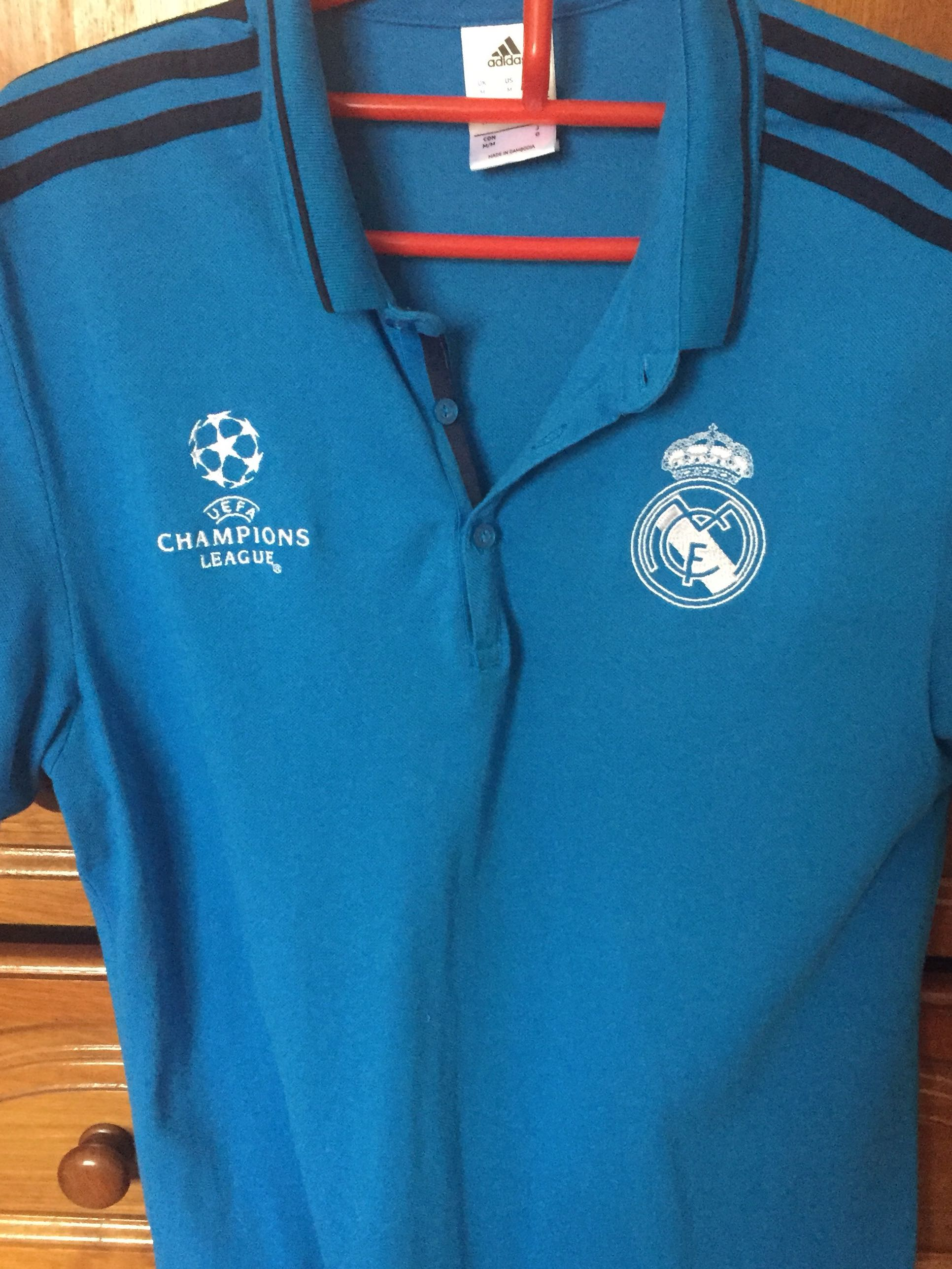 737ff2b66 Real Madrid polo T 100% authentic