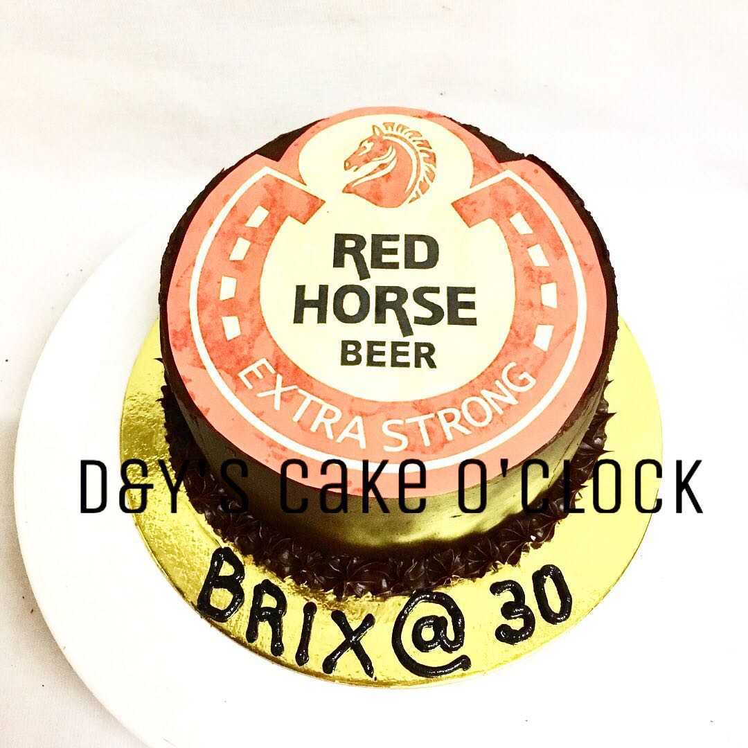 Redhorse Cake Food Drinks On Carousell