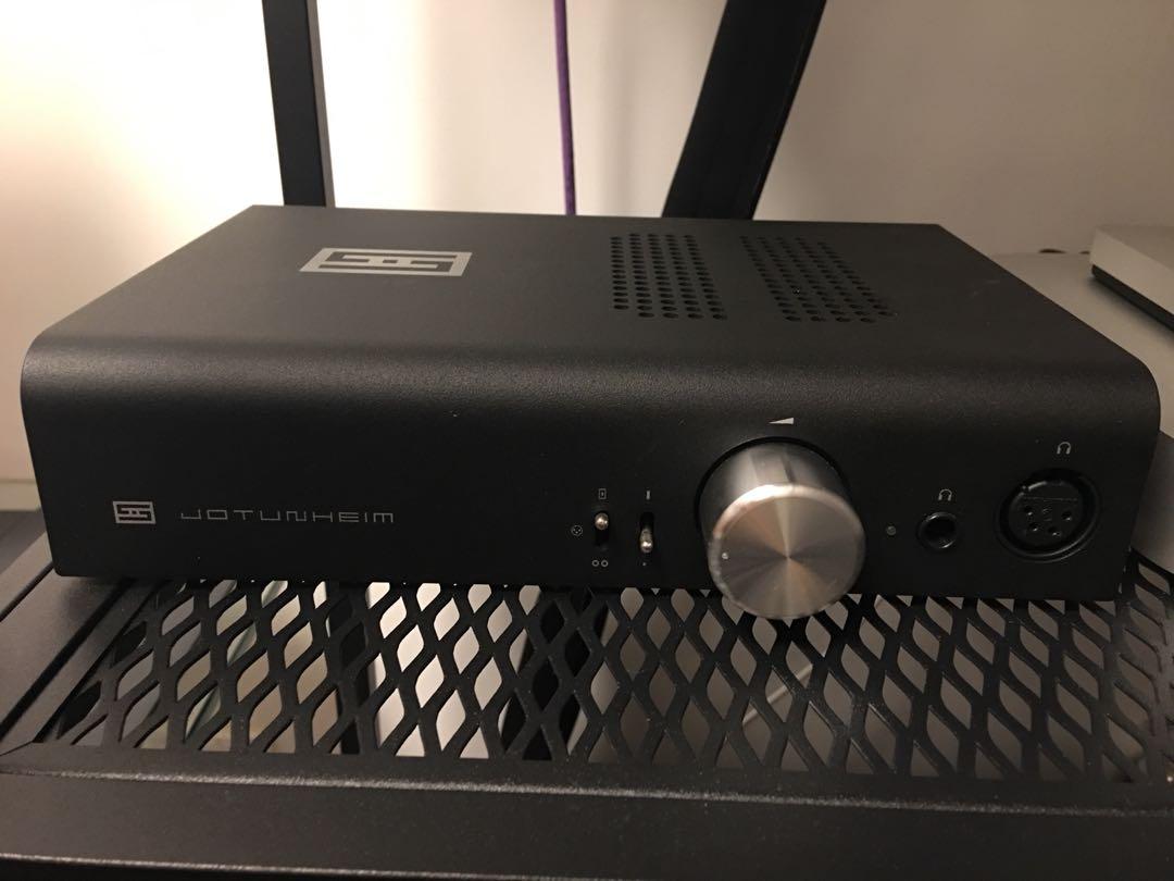 Schiit Jotunheim Black (with Balance DAC), Electronics