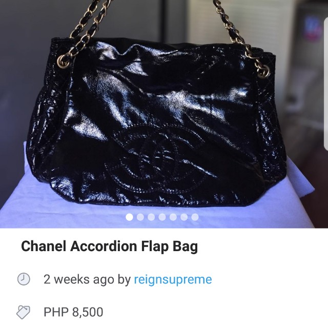 Seller selling fake bags claiming its authentic beware