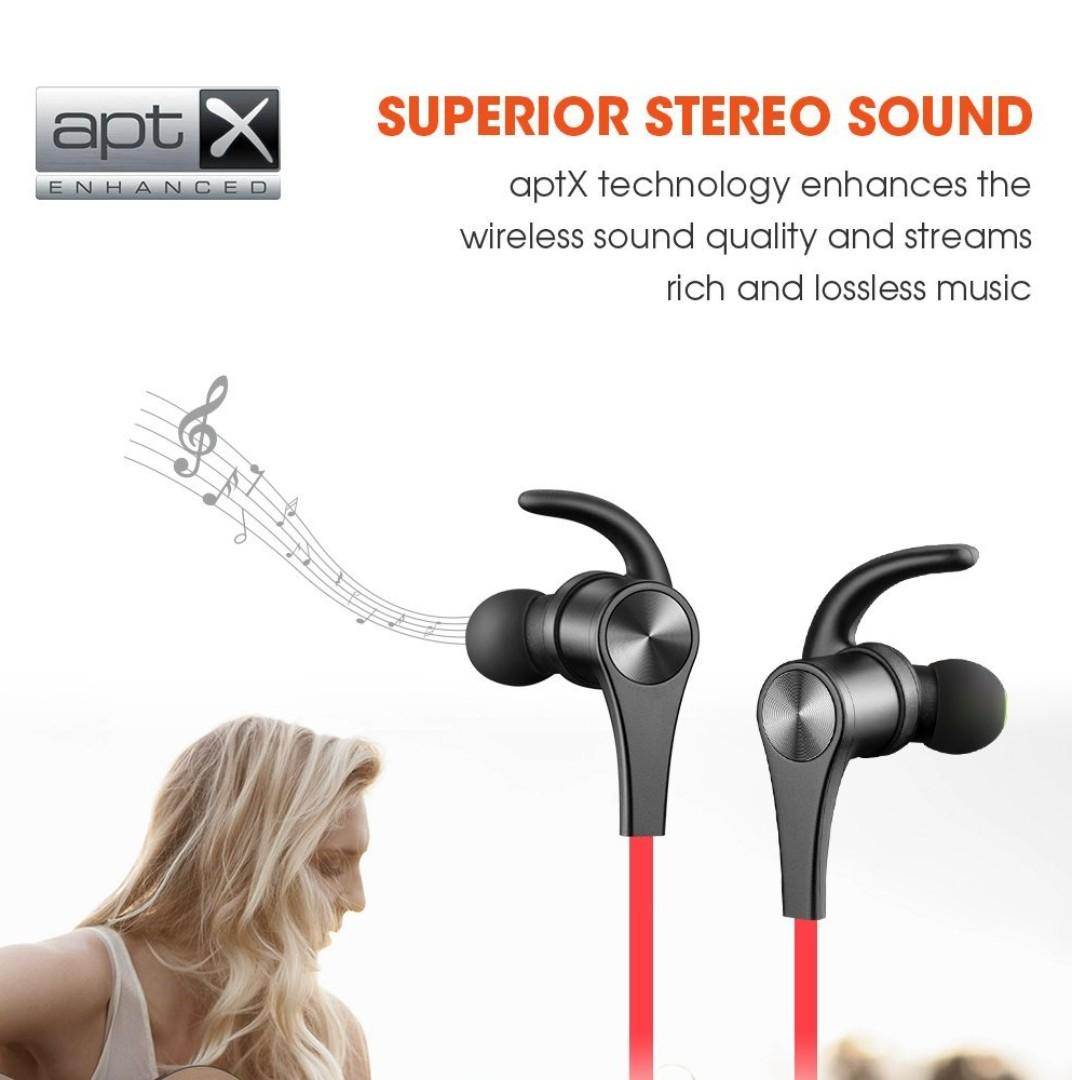 890f52d8a58 SoundPEATS New Q12 Bluetooth 4.1 Magnetic Headphones In Ear Wireless ...