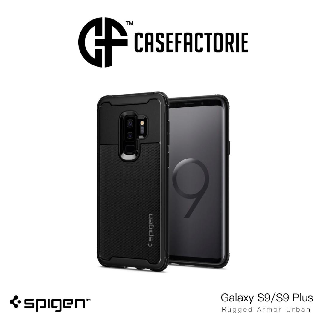 more photos b787e 64d52 Spigen Rugged Armor Urban Case for Samsung Galaxy S9/S9 Plus