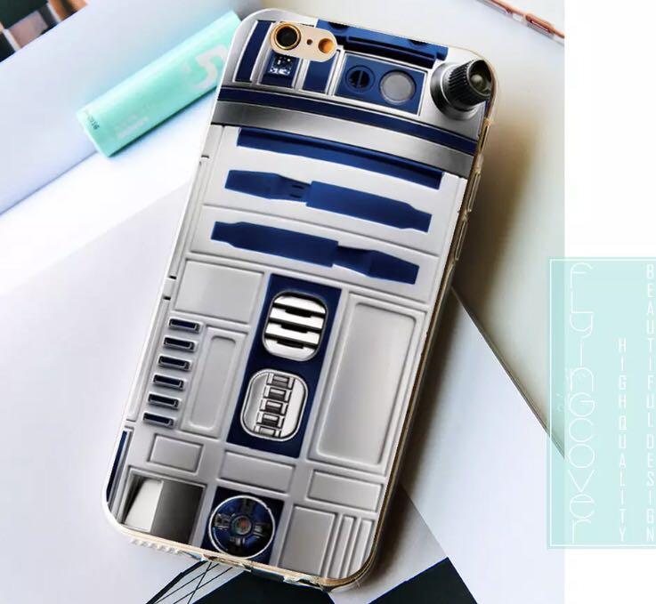 Star Wars Robot R2D2 BB8 iphone case