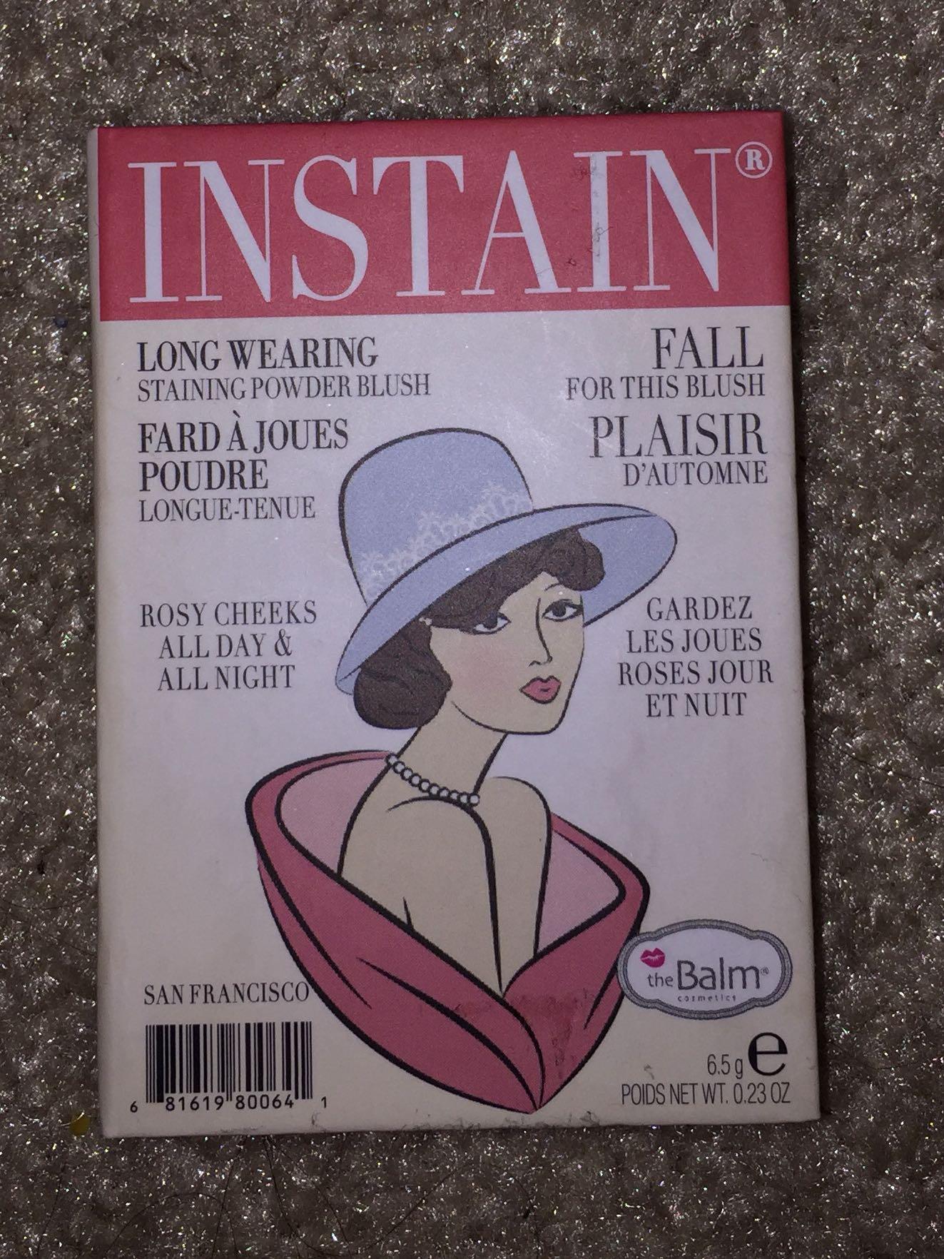 The Balm Instain Blush