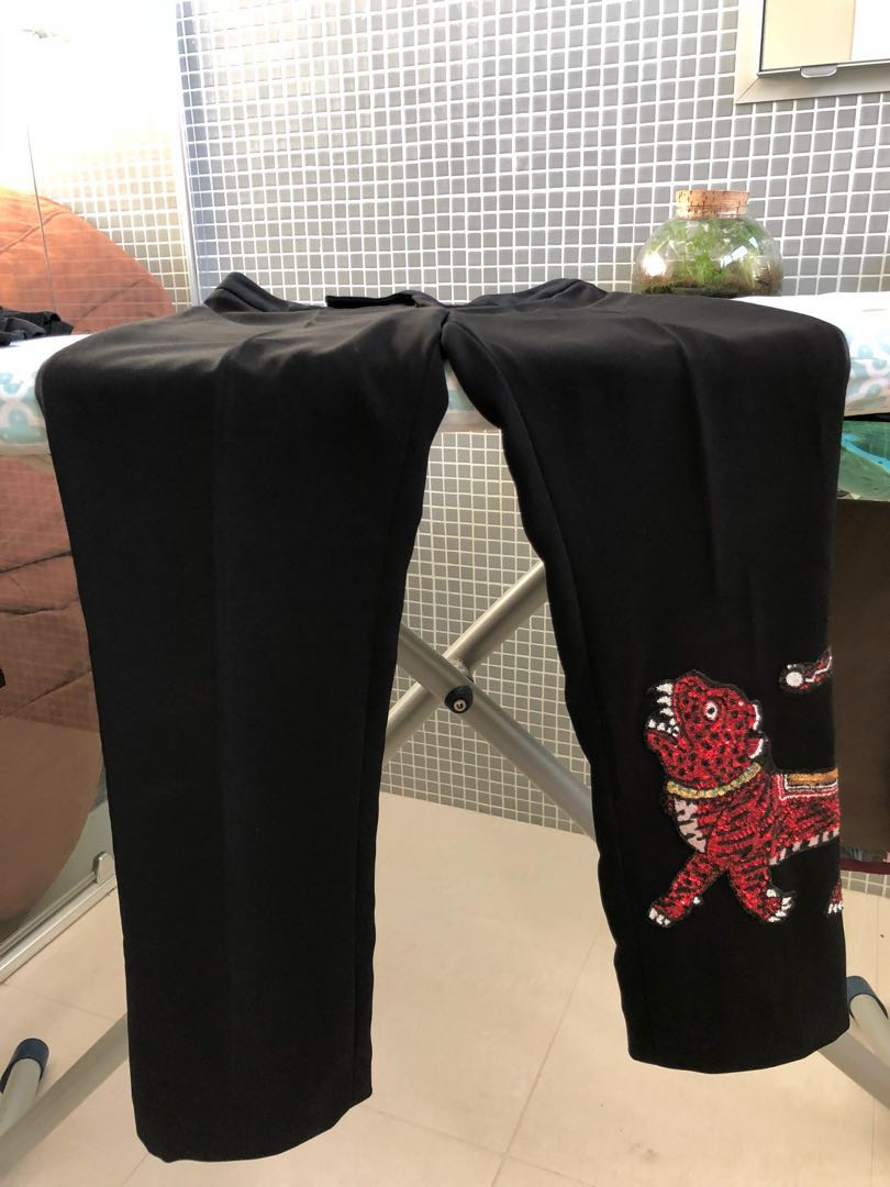 Tiger Gucci style pants