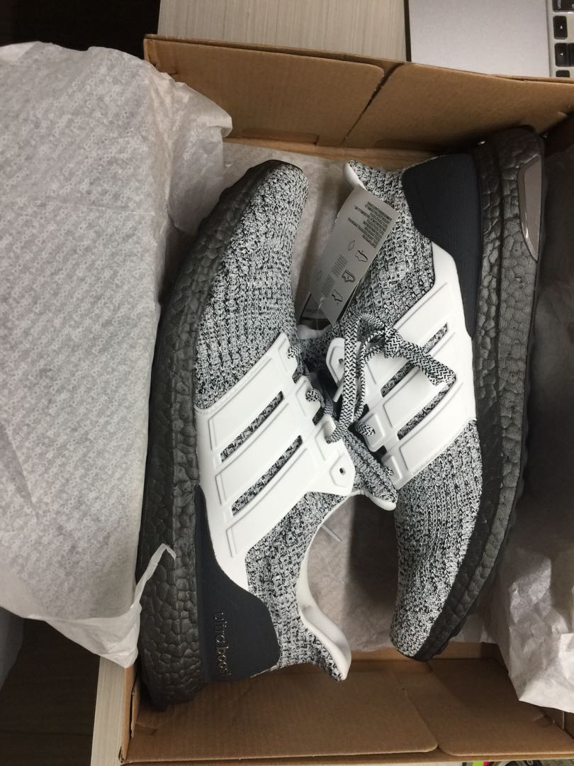 """c0a1a4a4c90e14 Adidas Ultraboost 4.0 Cookies and Cream """" Oreo """" ultraboost caged ..."""