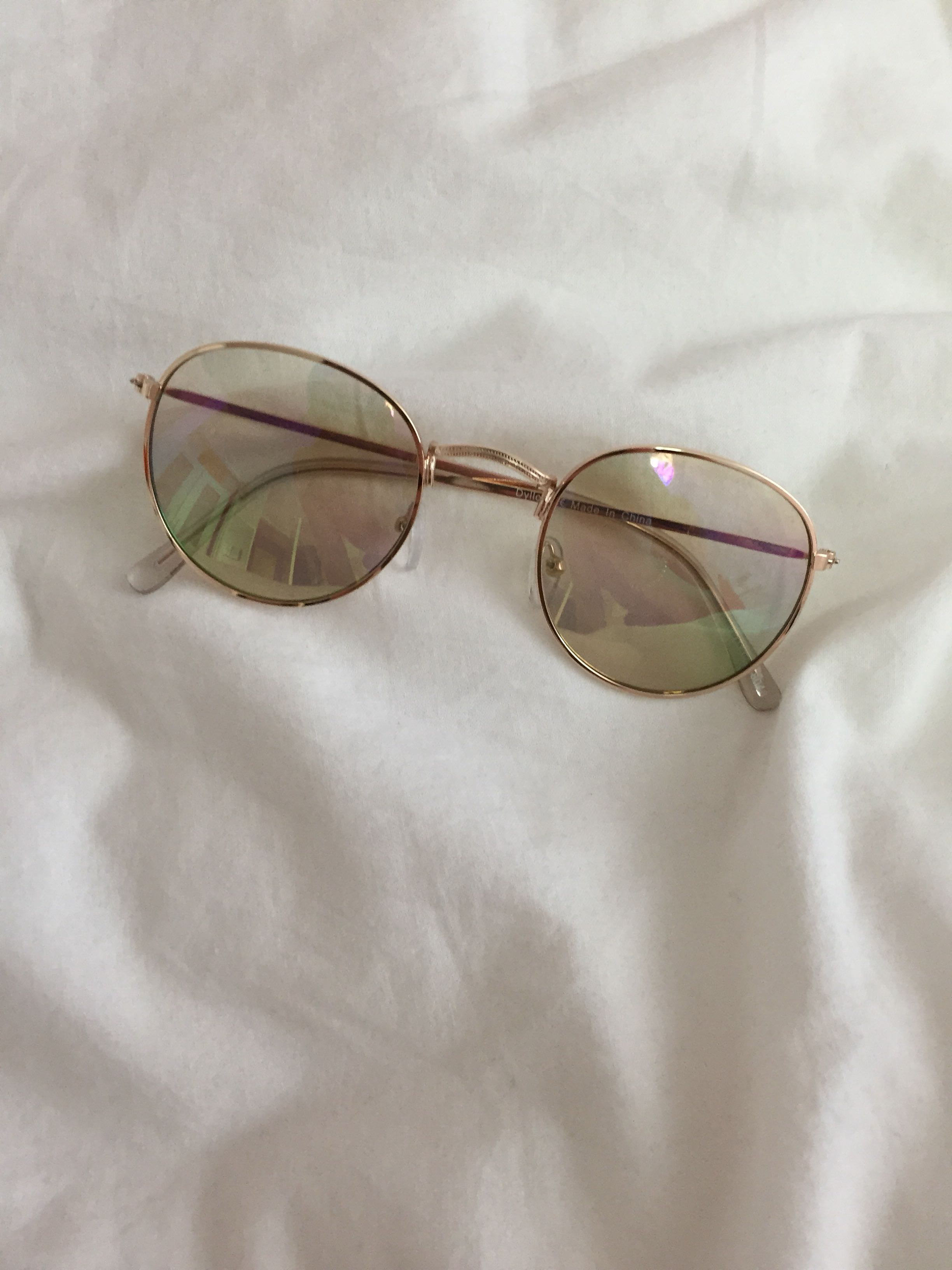 Urban outfitters rainbow sunglasses