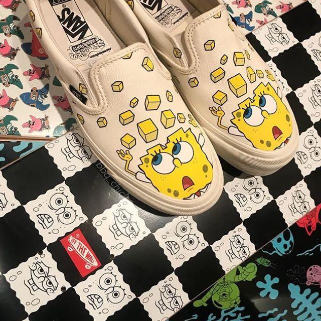 63d58f0db1d6 Vans Vault x Spongebob Squarepants OG LX slip on   authentic
