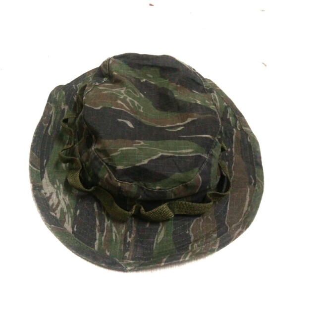 1bc718e3 Vintage Dark Tiger Stripe Boonie Hat R&B inc Made in Usa U.S Army Military,  Men's Fashion, Accessories, Caps & Hats on Carousell