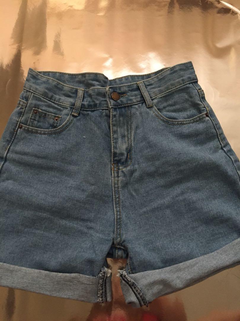 Vintage Mom Denim Shorts