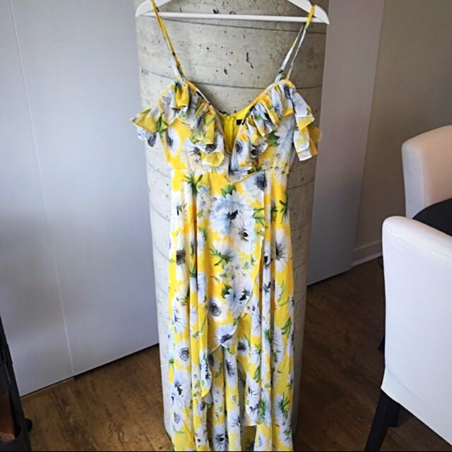 Women's Long Floral Dress Size Small