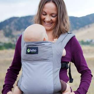 Boba baby carrier grey