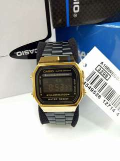 Casio Black Gold