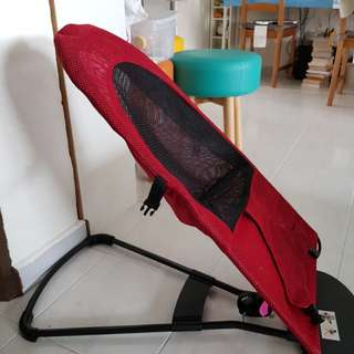 Foldable cooling rocking chair