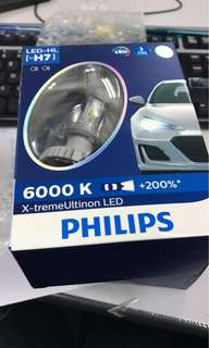 Philips X-Treme Ultinon LED 6000K Light Bulb