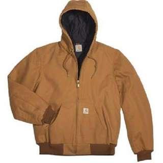 🚚 🇺🇸美國帶回 carhartt 鋪棉連帽夾克 active jacket