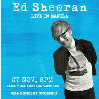 LF 2 Ed Sheeran Patron A Tickets