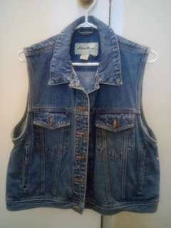 Eddie Brown Jean Vest