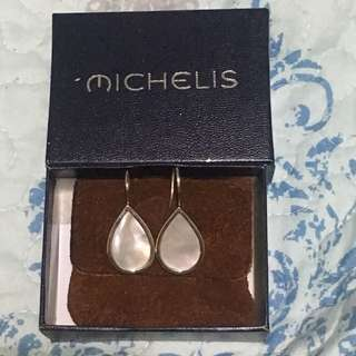 Michelis Mother Pearl dangling earrings