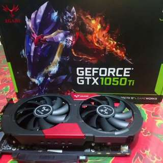 iGame GeForce 1050 Ti Vulcan OC