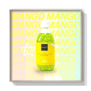 Shower scrub Mango Scarlett whitening