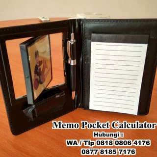 Agenda Organizer with Calculator