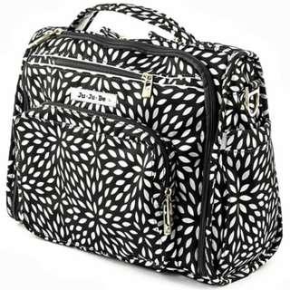 [PL] Jujube B.F.F. Backpack Diaper Bag - Platinum Petals baby newborn infant stroller