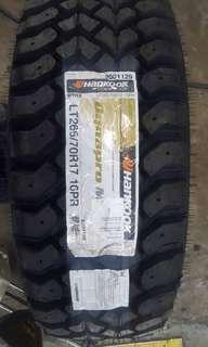 265/70/17 Hankook DynaPro Mud Terrain M/T Tyre