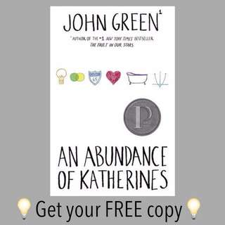 An Abundance Of Katherines John Green Ebook