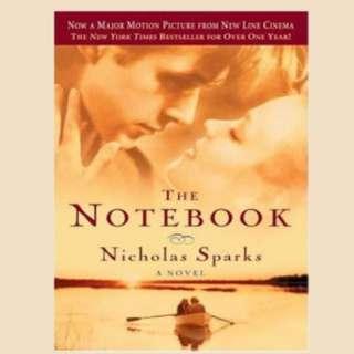 Nicholas Sparks Books I
