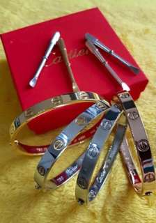 Cartier Bangle with Screw