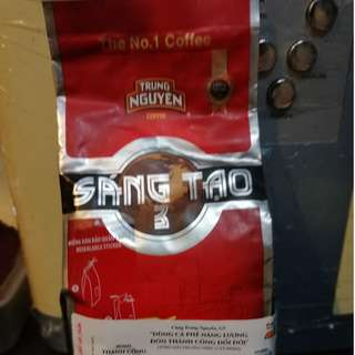Vietnam coffee Trung Nguyen Ground Coffee Sangtao 3
