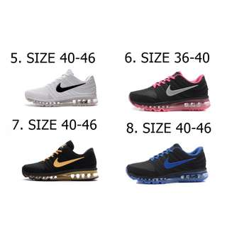[SALES]  [PO]PROMOTION SALES FOR MONTH  OF APRIL 18 !!  Limited edition NIKE AIRMAX V3 SHOES ON SALES NOW !!!! [ UP TO SIZE 46]