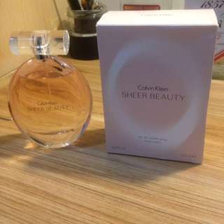 parfum calvin klein sheer beauty