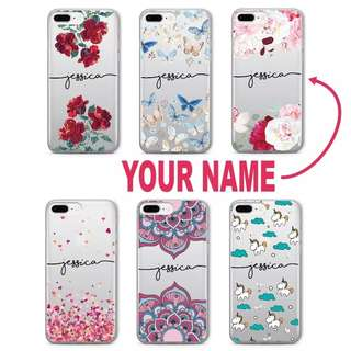 (po) Name Custom Phone Case