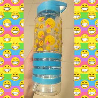 Emoji Tumbler with Straw
