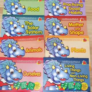 Activity Books pre school (8books)