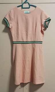 Bayo Millenial Pink Casual Dress