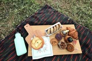 野餐墊 野餐布 購於 Pinkoi 4-6 人適用