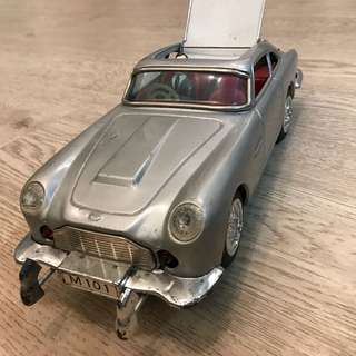 James Bond Aston Martin tin toy car 占士邦  鐵皮玩具車 1960S