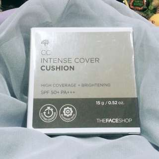 The Face Shop CC Intense Cover Cushion V103 Pure Beige