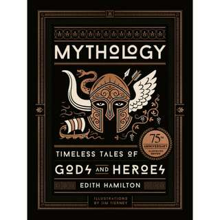 Free ebook - Mythology: Timeless Tales of Gods and Heroes by Edith Hamilton, Jim Tierney (illustrator)