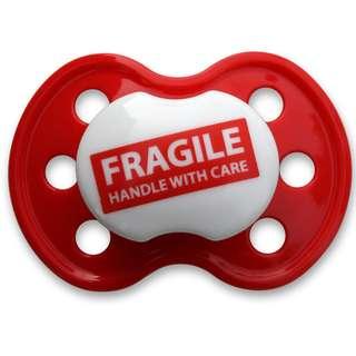 BooginHead Pacifier - Fragile