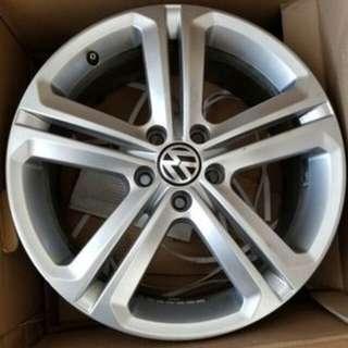 "VW Mallory Rims 18"""