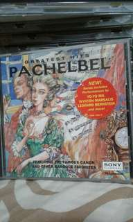 Music Instrumental  Greatest hits Pachelbel  Cd  $10  Pick up hougang buangkok mrt  Or add $1 for postage