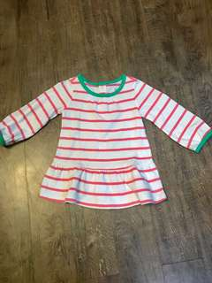 Old Navy Striped Dress (6-12 months)